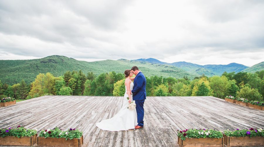 Romantic Hill Top Wedding at Trapp Family Lodge in Stowe, Vermont
